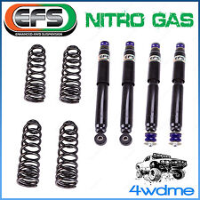 "Toyota Landcruiser HZJ FZJ 80 Series EFS 4WD Shocks + Coil Springs 3"" 75mm Lift"