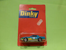 DINKY TOYS  PONTIAC FIREBIRD SS - BLUE 1:62 - NM IN UNOPENED CARD BLISTER