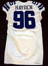 #96 Nick Hayden Authentic Team Issued Dallas Cowboys Nike Jersey