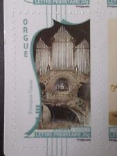 FRANCE 2010, TP AUTOADHESIF 396 MUSIQUE ORGUE neuf**, MNH STICKER STAMP