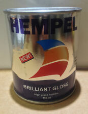 HEMPEL BRILLIANT GLOSS PAINT POLAR WHITE 750ml HIGH GLOSS ALKYD TOPCOAT COATINGS