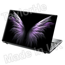 SKIN laptop COVER NOTEBOOK Adesivo Decalcomania Viola Wings