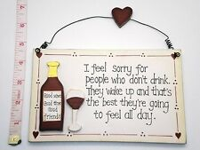 Feel Sorry Plaque Friendships Christmas Secret Santa Gifts Ideas for Friends