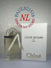 CHLOE LOVE STORY EAU DE PARFUM SPRAY 75 ML / 2.5 FL.OZ- 100% AUTHENTIC ! ! !