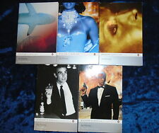 * 5 EXPLOSIVE JAMES BOND BOOKS by IAN FLEMING * UK POST £3.25* PAPERBACKS*