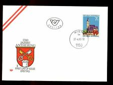 Austria 1990 1200th Anniv Of Anthering FDC #C3012