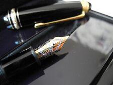 RARE MONTBLANC LEGRAND 147 TRAVELLER 18K GOLD/DIAMOND 75th Anniversary FOUNT PEN