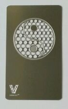 New V Syndicate Credit Card Grinder Yin Yang design