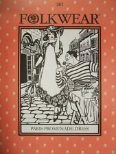 Folkwear 261 Paris Promenade Dress 1918-1920 Sewing Costume Pattern