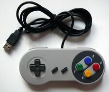 SNES Retro USB Super Nintendo Controller for Windows PC/MAC (acc-247)