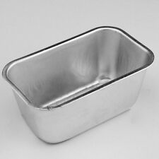 For Home Bread Cake Aluminum Loaf Rectangle Box Tin Cakes Baking Bakeware