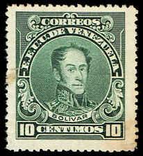 Scott # 272A - 1924 - ' Simon Bolivar ' - Perf. 14