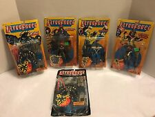Ultra Force Action Figures Lot of 5- #2, #7, #8, #9, #10 by Galoob 1995 *NIP*