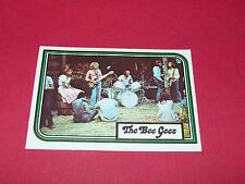 CARD THE BEE GEES AMERICANA ANDY GIBB SATURDAY NIGHT FEVER 1978 PANINI
