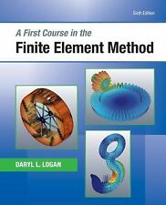 FIRST COURSE IN THE FINITE ELEMENT METHOD (9781 - DARYL L. LOGAN (HARDCOVER) NEW
