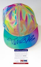 MICHAEL J. FOX MARTY MCFLY SIGNED BACK TO THE FUTURE II CAP HAT PSA COA X68006
