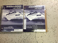 1999 Sea Doo Speedster SK Service Shop Repair Manual Set W Parts Accessories Bk