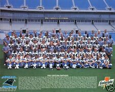 1996 CAROLINA PANTHERS FOOTBALL 8X10 TEAM PHOTO PICTURE