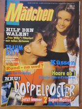 MÄDCHEN 3 - 26.1. 1994 Free Willy-Poster Fotolove-Story Poesie Mode Beauty Bravo