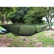 Parachute Cloth Fabric Hammock Portable Camping Hammock With Mosquito Net
