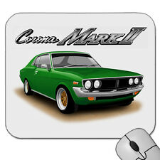 73'  75'   TOYOTA  CORONA  MK2  COUPE   MKII     MOUSE PAD   MOUSE MAT