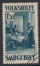 SAAR:1931 Christmas Charity 1F50 blue SG 153 fine used