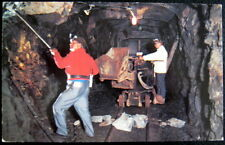 CANADA~1950's SUDBURY Ontario ~ DRILLING IN MINE ~ Big Nickel Monument Property