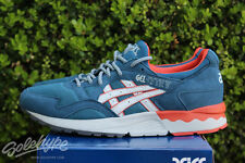 ASICS GEL LYTE V 5 SZ 12 LEGION BLUE SOFT GREY SUMMER BLUES PACK H6A2Y 4510