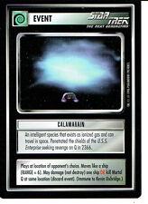 STAR TREK CCG Q CONTINUUM RARE CARD CALAMARAIN