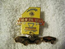 Lions Club Pin 1976 Car Vintage Collectible pin