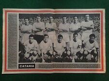 (S111) POSTER 51x34 cm CATANIA 1963/64 Squadra , Sport illustrato