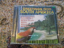 Greetings from South America 1999 Delta music CD