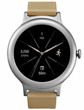 LG - Watch Style Smartwatch 42.3mm Stainless Steel - Silver - NEW! SEALED!