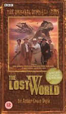 SIR ARTHUR CONAN DOYLE THE LOST WORLD LIMITED EDITION PACKAGING STILL SEALED VHS