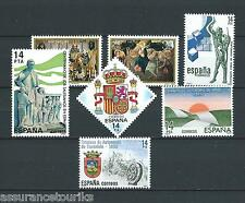 ESPAGNE - 1982-83 YT 2303 à 2308 - TIMBRES NEUFS** LUXE