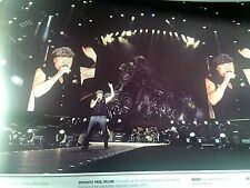 AC/DC Brian Johnson Munich 2009 Single Page from Music Book 25x15cm