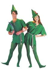 Adult Unisex Peter Pan Costume Set Robin Hood Outfit Cosplay One Size Party New