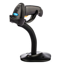 Tera Wired Barcode Scanner Handheld USB Scan Gun Label Bar Code Reader + Base