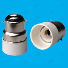 Bayonet BC B22 To Small Edison Screw SES E14 Light Bulb Adaptor Lamp Holder