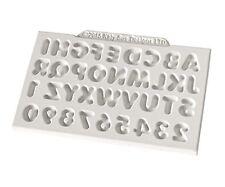 MINI CUPOLA alfabeto Katy citare Designs stampo in silicone per torta decorazione cupcakes