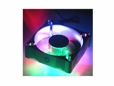 EverCool 92mm Aluminum Fan 4 Color LED (Blue,Green,Red,Orange) ALED9225B