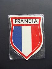 Vintage France Souvenir Ski patch from 1956 Cortina Winter Olympics Francia