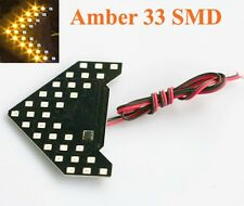 Amber 33-SMD Sequential LED Arrows Panel for Car Side Mirror Turn Signal Lights