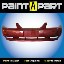 1999 2000 2001 Ford Mustang GT Front Bumper Painted E9 Laser Red Metallic