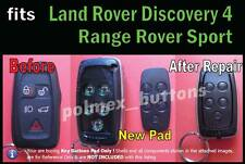 fits Land Rover LR4 Discovery 4 remote key fob- Silicone repair 5 Button key Pad