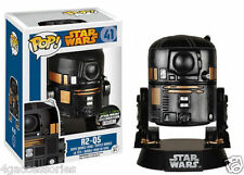 FUNKO POP! STAR WARS R2-Q5 VINYL BOBBLE-HEAD FIGURE CONVENTION SPECIAL FK5750