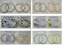A-06 Wholesale Jewelry lots 10 pairs Mixed Styles Fashion Hoop Earrings