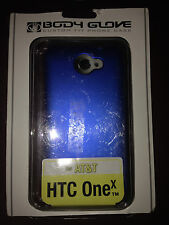 Body Glove Cell Phone Smooth Case for AT&T HTC One x- Blue