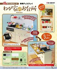 Re-ment NEW Japan Miniature Kitchen Dollhouse White Sink cabinet set