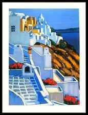 Jean Claude Quilici La Caldeira Poster Bild Kunstdruck im Alu Rahmen 80x60cm